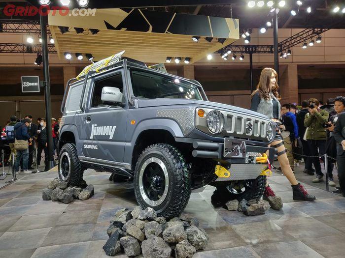 Suzuki Jimny Survive. Dimodifikasi sebagai mobil rescue