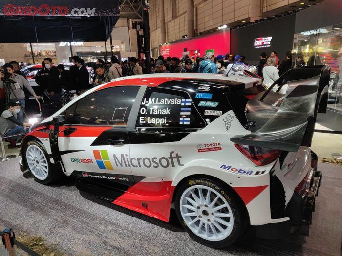 Toyota Yaris WRC juara konstruktor tahun 2018 lalu