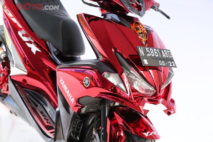 Yamaha Aerox pemenang master class di Customaxi Yamaha Surabaya