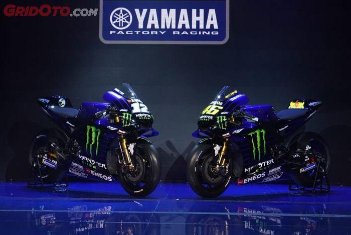 Motor terbaru tim MotoGP Yamaha 2019