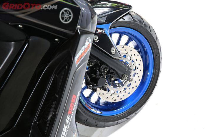 Modifikasi Yamaha NMAX Racing Harian Surya Motor Bali