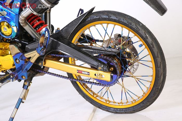 Modifikasi Honda MSX 125 Chroome Loreng Mr. Moo