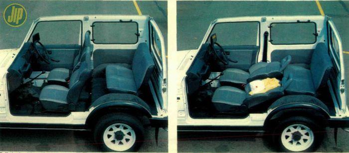 Interior Suzuki Katana 1993