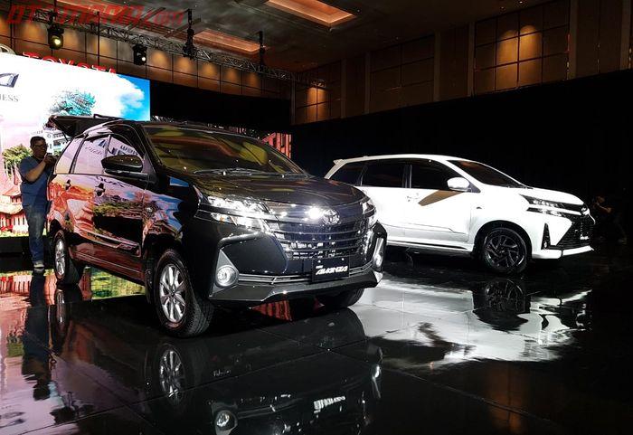 Toyota Avanza dan Toyota Veloz yang Resmi Dirilis di Indonesia (15/1)
