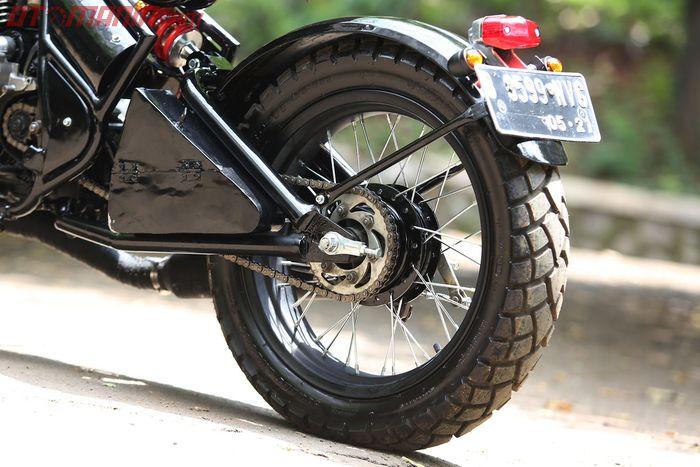 Yamaha Scorpio Bobber Model Triumph Bonneville Motor Custom Nusantara