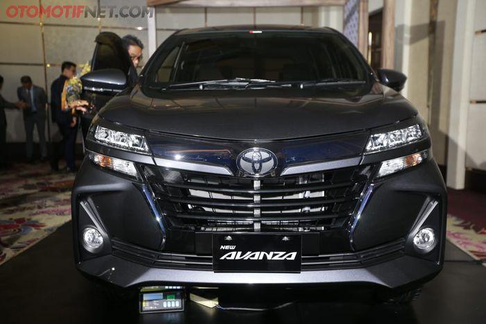 Toyota Avanza 2019 . Tampak depan