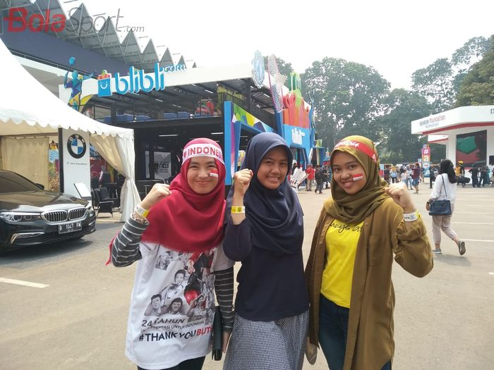 Keseruan Spot Foto Di Area Istora Senayan, Jakarta pada ajang Indonesia Open 2019