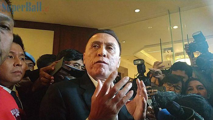 Ketua Umum PSSI, Mochamad Iriawan di Hotel Shangri-La, Jakarta, Sabtu (2/11/2019).