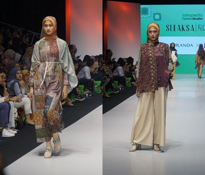 Koleksi busana Tridatu by Ria Miranda yang busui friendly
