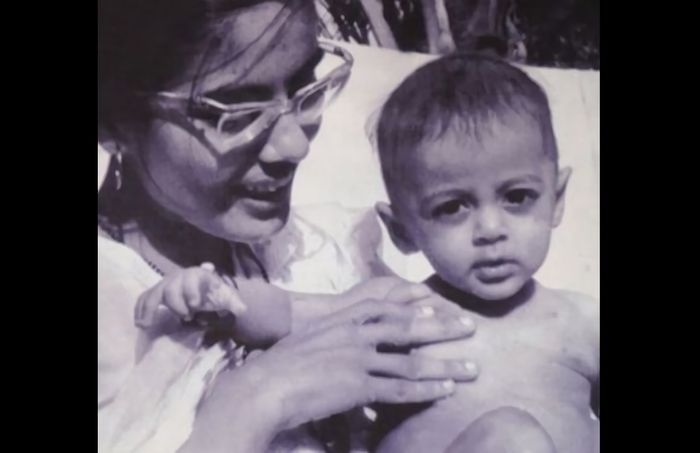 Salman Khan semasa kecil