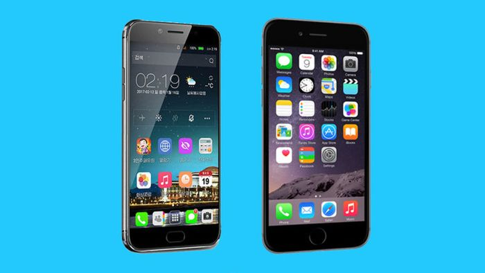 Jindallae 3 vs iPhone 6