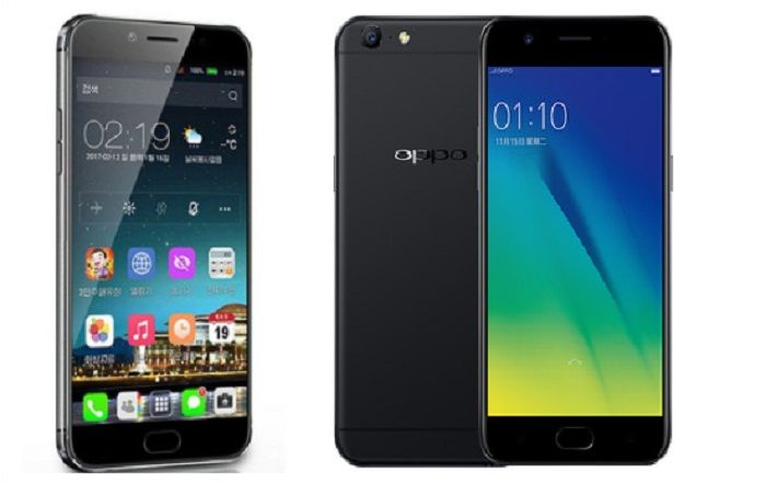 Jindallae 3 vs OPPO A57
