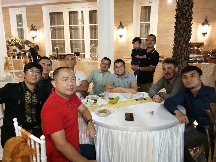 Raung berkumpul <a href='http://manado.tribunnews.com/tag/rumah' title='rumah'>rumah</a> Andre Taulany