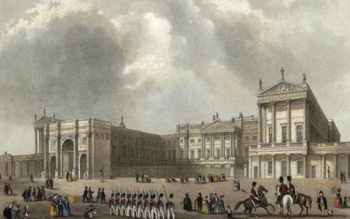 Istana Buckingham 1837.