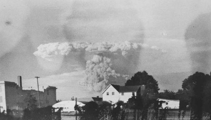 Erupsi Gunung St Helen di Portland