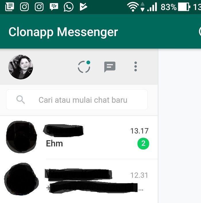 WhatssApp Pasangan Berhasil Disadap