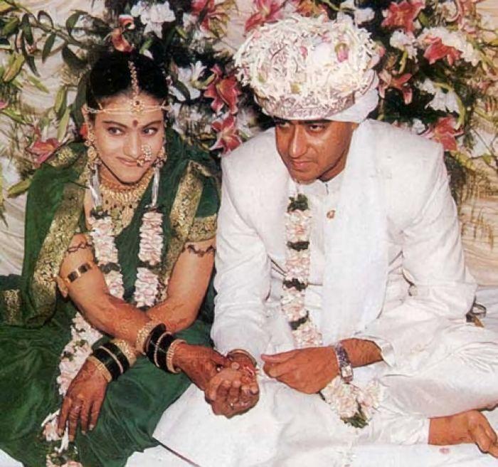 Kajol dan Ajay memutuskan menikah pada 1999