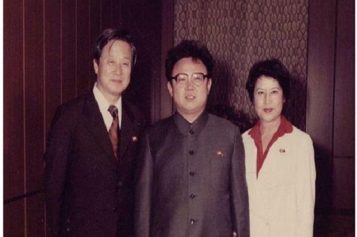 Choi dan Shin ketika menjadi sandera Kim Jong-il