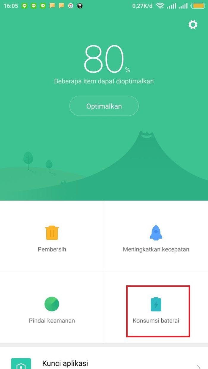 Pengaturan ponsel Xiaomi Intisari