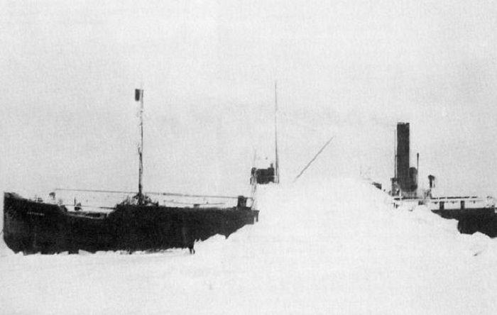 SS Baychimo, 1931