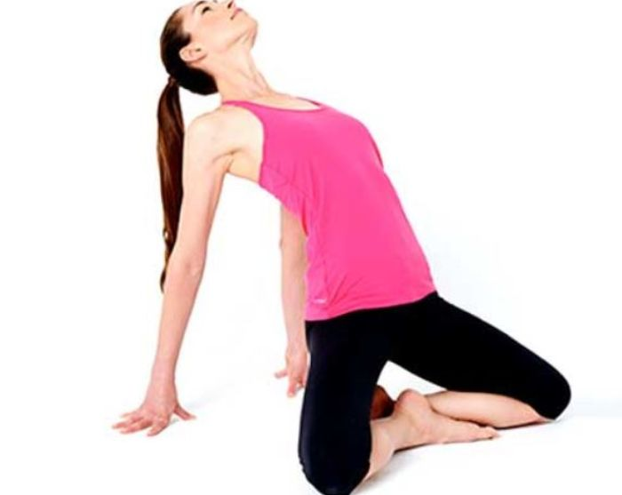 Stretch seated back arch