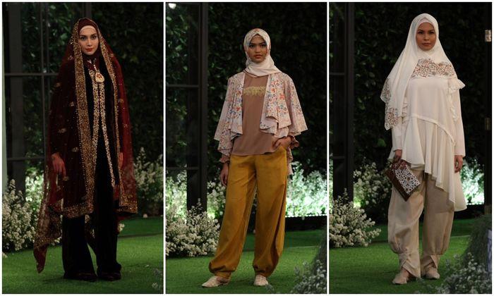 Ivan Gunawan di balik label Mandjha menawarkan opsi busana Ramadan dan Lebaran bergaris simpel minimalis modern elegan.