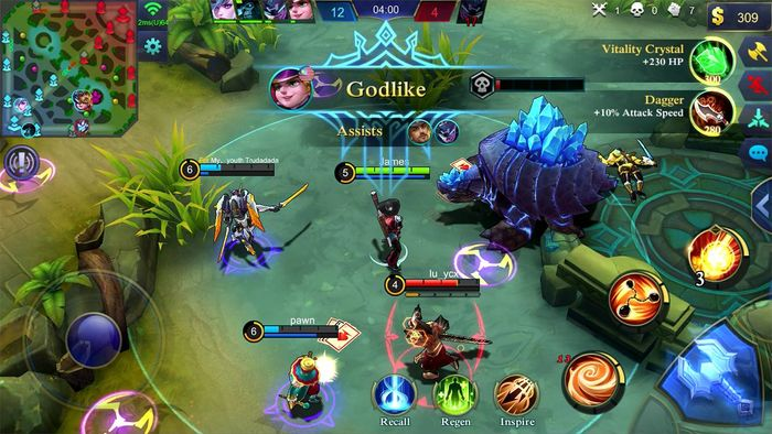 Mobile Legends play
