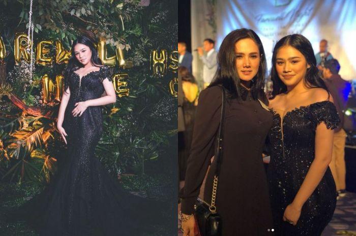 Mulan Jameela temani Tiara di acara prom night