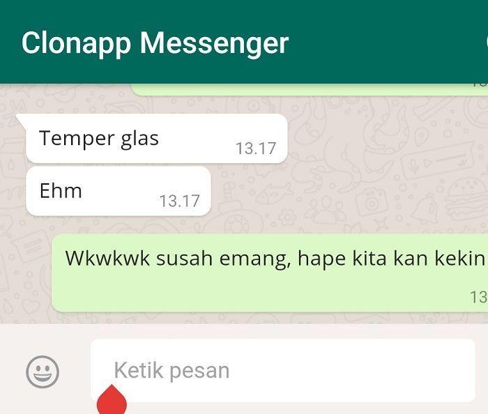 Tips WA: Cara Menyadap WhatsApp Pasangan Menggunakan Cloneapp Messenger.