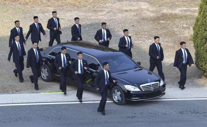 Salah satu mobil Kim Jong Un