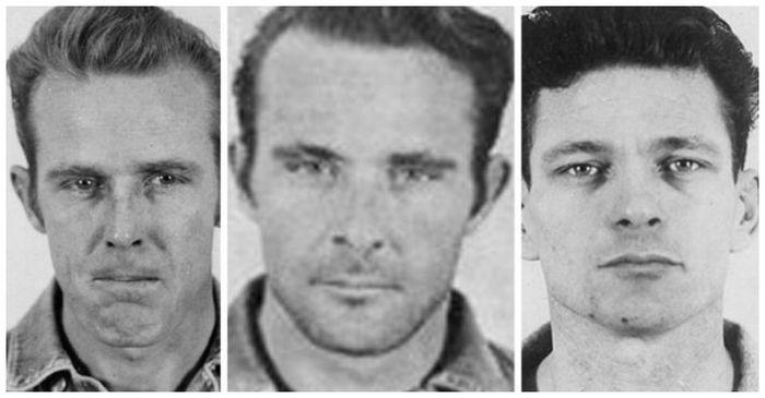 tiga narapidana yang berhasil melarikan diri dari Alcatraz