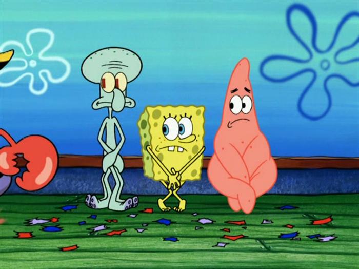 Hal-hal aneh di serial kartun Sponge Bob
