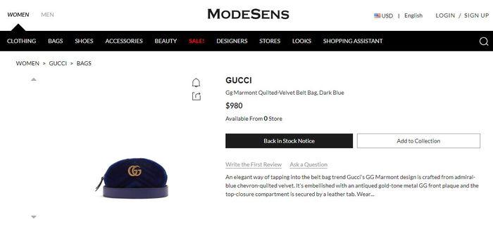 Waist bag Gucci