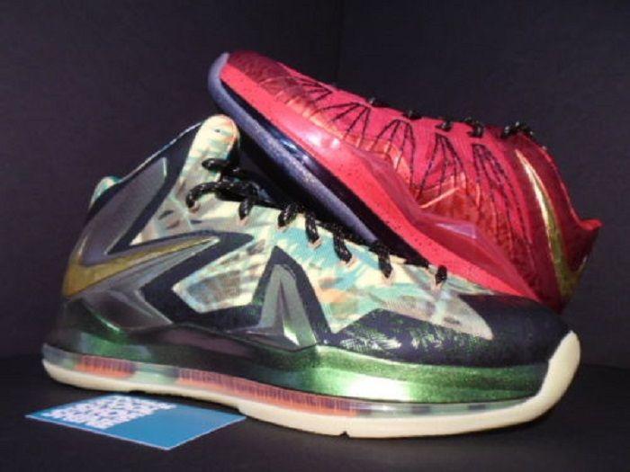 Nike LeBron X Promo Sample - Rp 216 juta