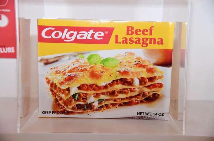 Lasagna beku dari Colgate merupakan salah satu produk gagal yang dipamerkan di Museum of Failure.