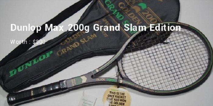 Dunlop Max 200g Grand Slam Edition