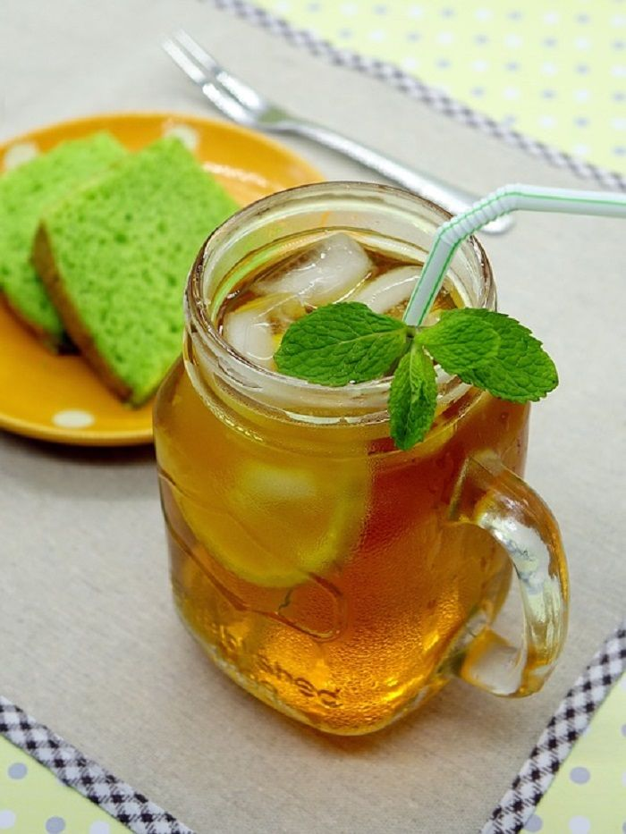 Es teh lemon