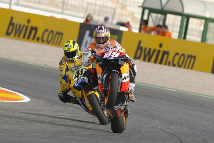 Rossi vs Nicky