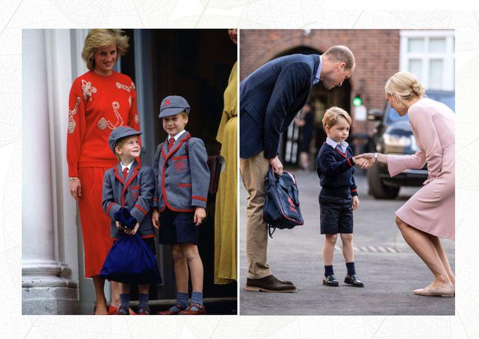 Diana mengirim anaknya ke sekolah umum