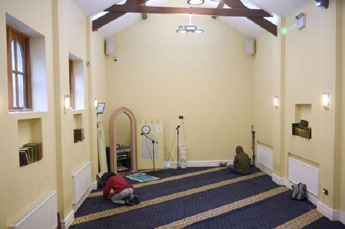 Liverpool Echo/Di dalam masjid Sheikh Abdullah Quilliam di Liverpool.