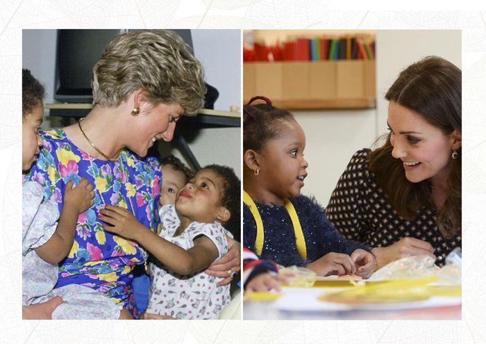 Diana dan Kate sama-sama dekat dengan rakyat
