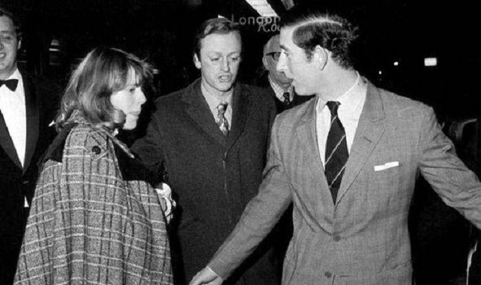 Camilla, Andrew Parker Bowles (tengah), dan Pangeran Charles