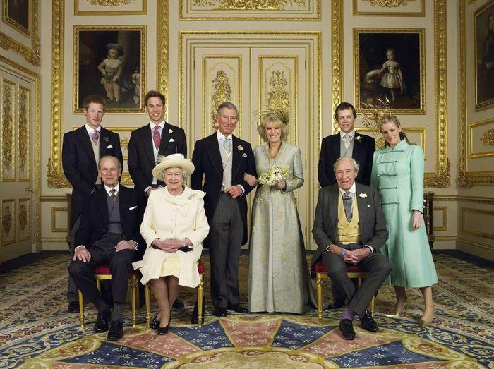 Potret pernikahan Charles dan Camilla