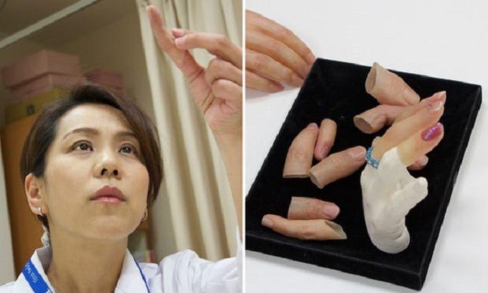 Yukako Fukushima membuat jari-jari palsu untuk para mantan anggota Yakuza.