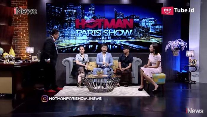 Rudy Salim hadir di acara talkshow Hotman Paris