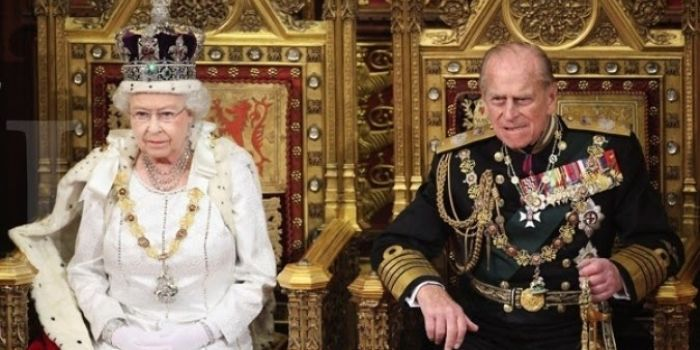 Ratu Elizabeth II dan Pangeran Philips.