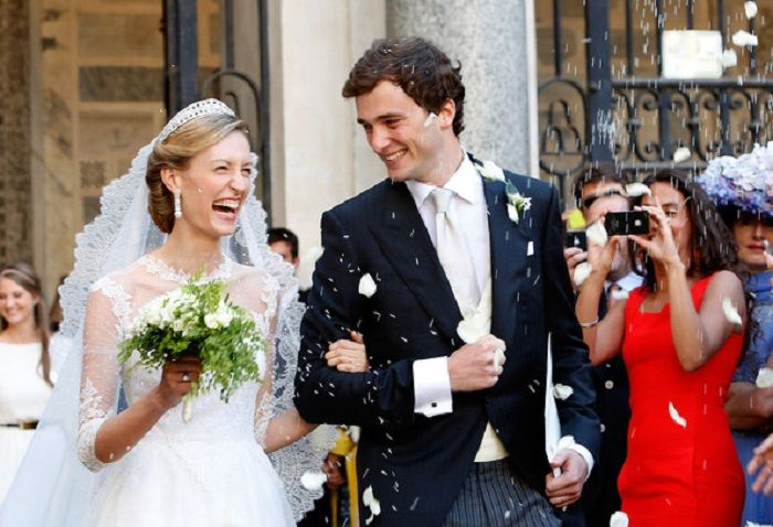 Pangeran Amadeo dan Putri Elisabetta