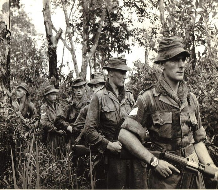 British Troops in Borneo