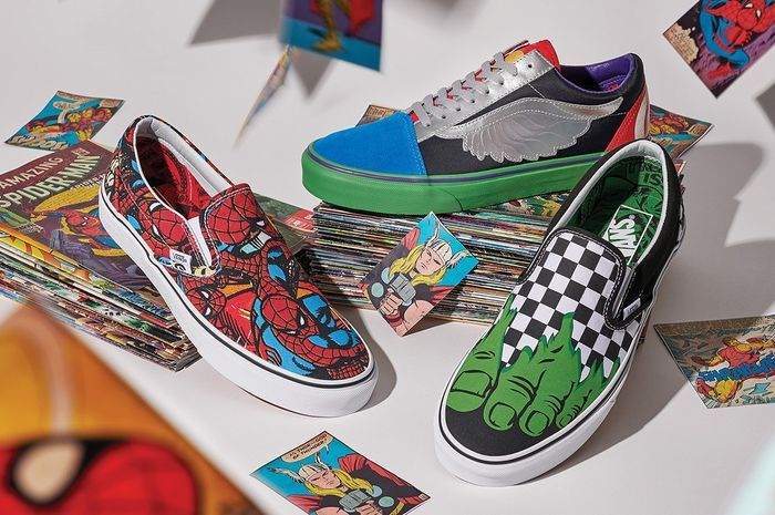 Sneakers The Avengers Kolaborasi Vans dengan Marvel