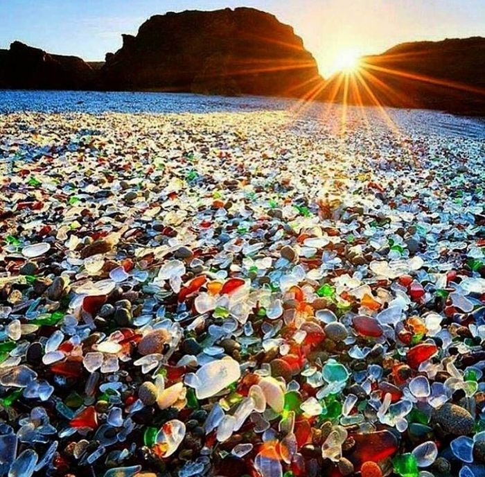 Glass Beach, California, Amerika Serika